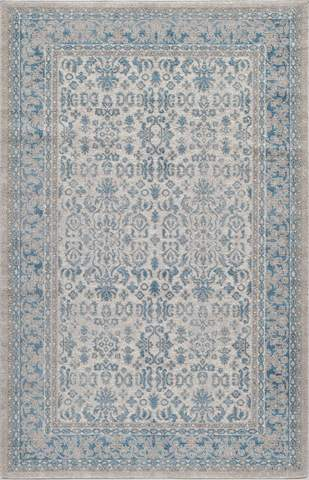 Ivory Turkish Traditional Rug