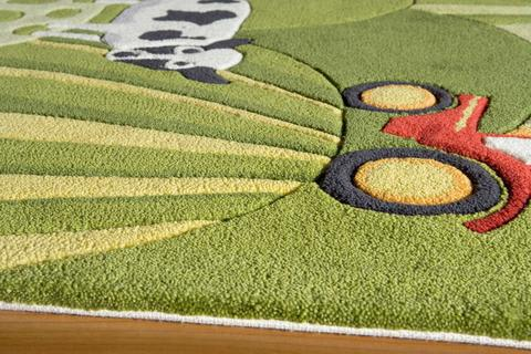 Grass Chinese Modern Kids Rug 1