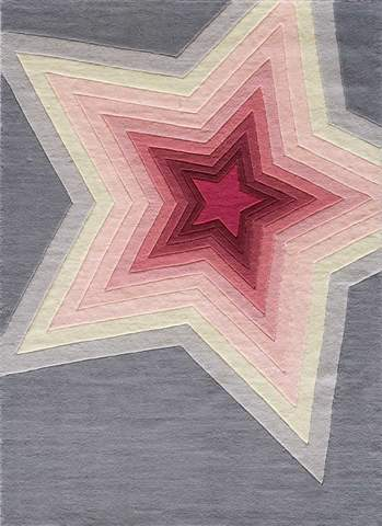 Superstar Chinese Modern Kids Rug