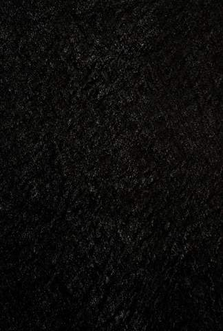 Black Chinese Transitional Shag Rug