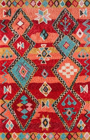 Red Chinese Rug