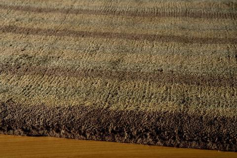 Brown Indian Contemporary Modern Rug 1