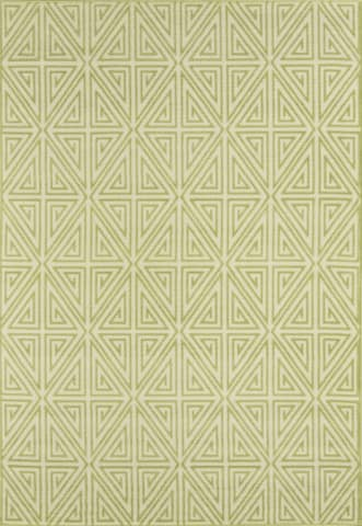 Green Egyptian Modern Rug - Multiple Sizes