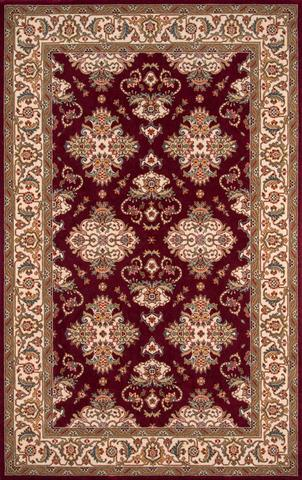 Burgundy Chinese Traditional Rug