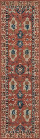 Red Indian Classic Traditional Rug 2