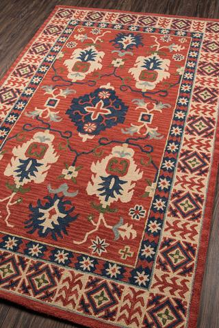 Red Indian Classic Traditional Rug 3