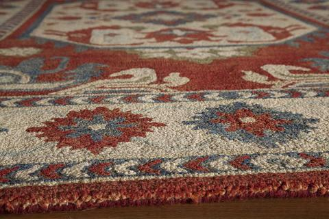 Ivory Indian Classic Traditional Rug 1