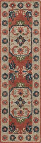 Ivory Indian Classic Traditional Rug 2