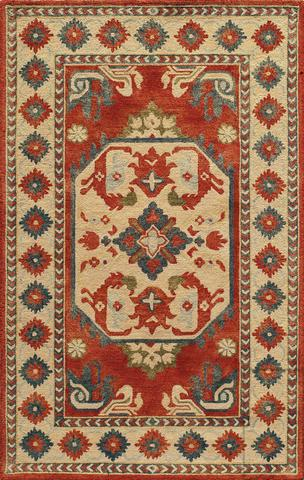 Ivory Indian Classic Traditional Rug