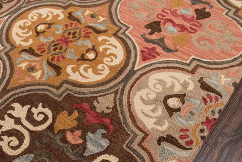 Multi Indian Indian Hand Tufted Rug 1