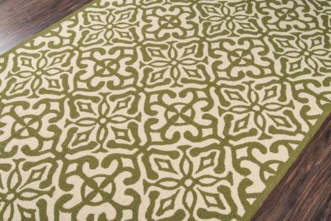 Green Chinese General Life Style Rug 2
