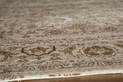 Beige Turkish Traditional Modern Rug 1