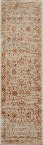 Beige Turkish Traditional Modern Rug 2