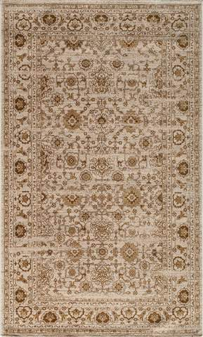 Beige Turkish Traditional Modern Rug