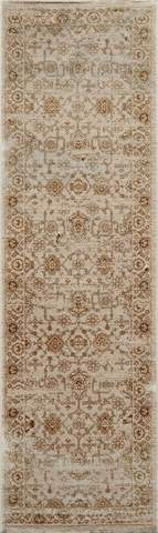 Beige Turkish Traditional Modern Rug 3