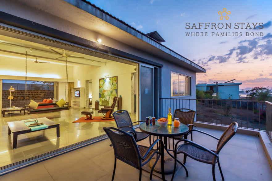 SaffronStays Home