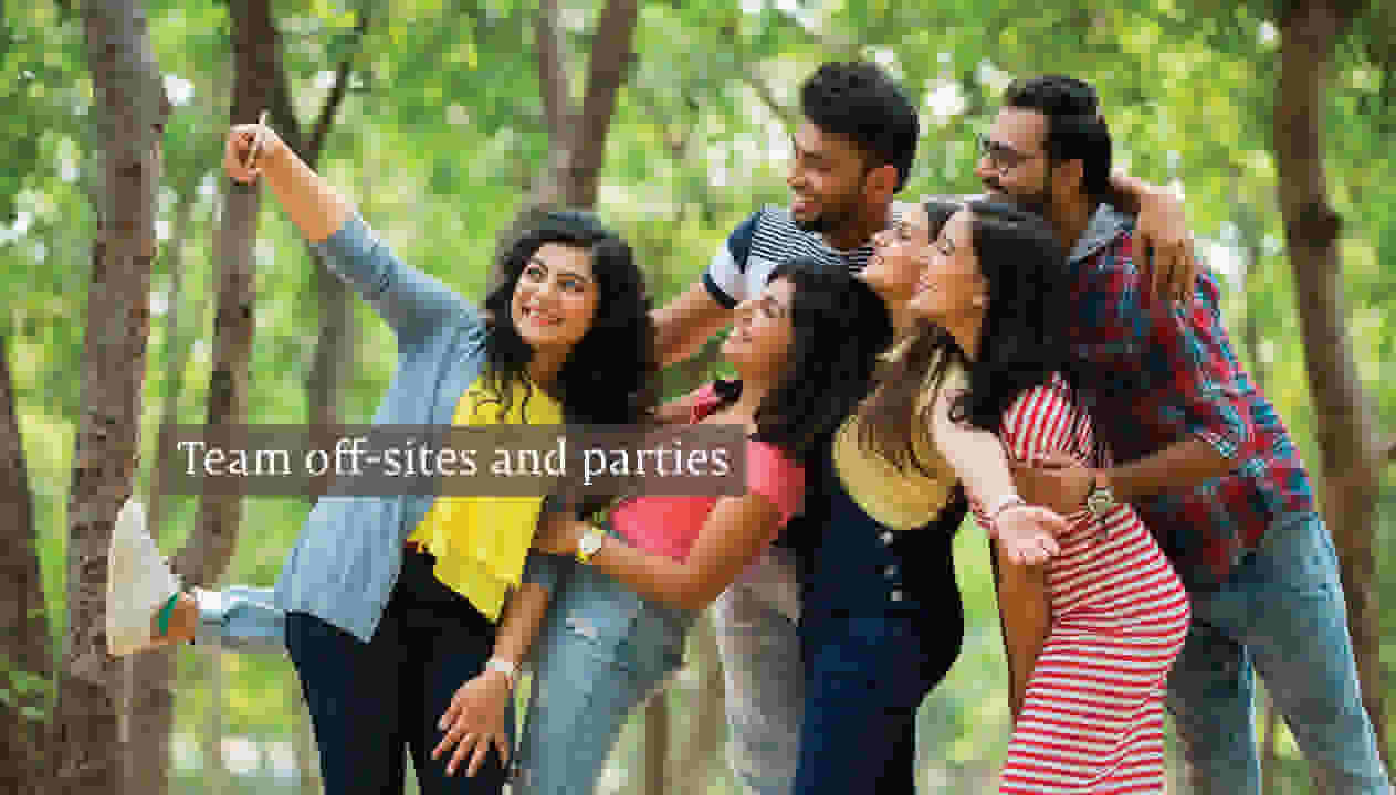 Team off-sites and Parties at Private Villa of SaffronStays