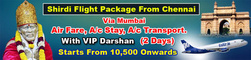 shirdi-flight-packages-from-chennai-to-mumbai