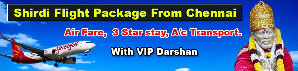 shirdi-flight-packages-from-chennai