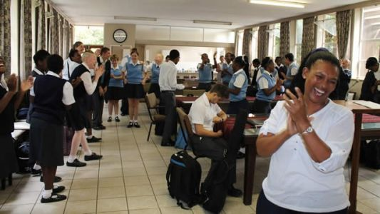 Library Week Celebrations at Prinshof School for the Blind
