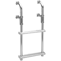 A transom boat ladder product image for boats