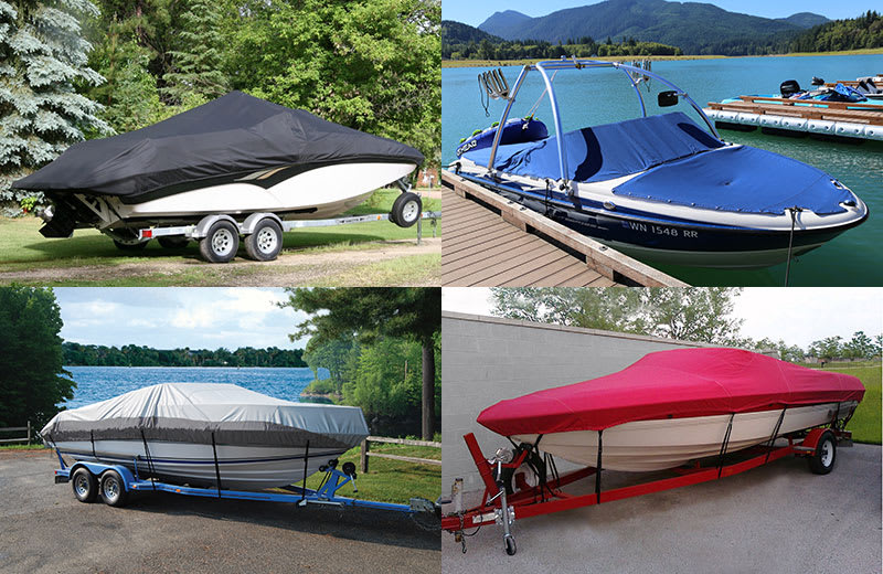 Boat Covers - 4 different examples