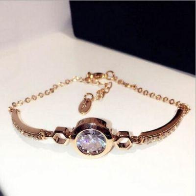 Super Zircon Gold Bracelet