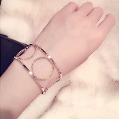 Hollow Circle Bracelet