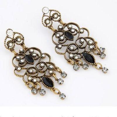 Flower Vine Earrings