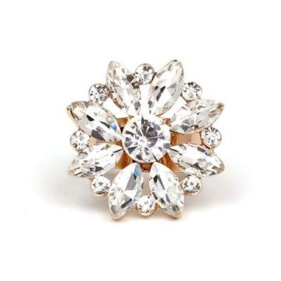 Elegant Fine Crystal Ring.