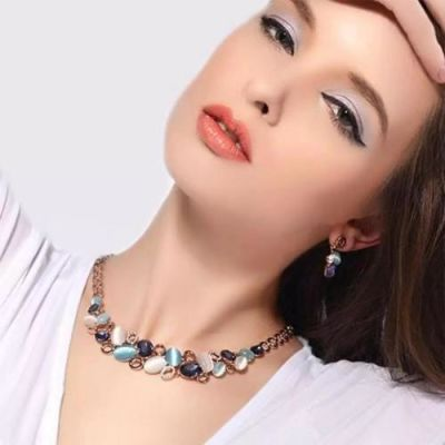 Chia Multicolour Necklace Set