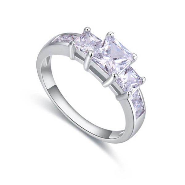 Sterling Silver Jewelry 925 Wedding Ring