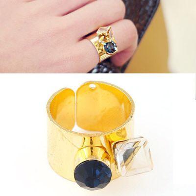 Gemstone Opening Ring