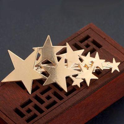 Gold Flashing Star Clip