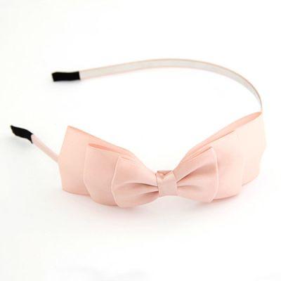 Pink beautifully  Satin Bow Hairband