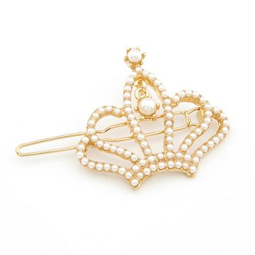 Crown pearl Stylish Hair Pin