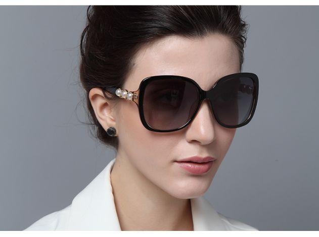 Brown Retro Sunglasses