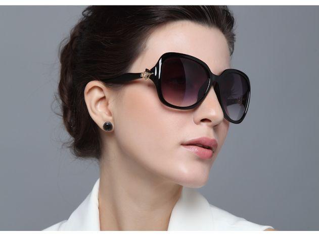Blue Retro Sunglasses