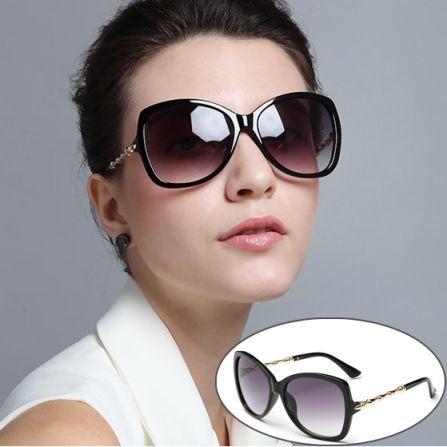 Black Light Retro Fashion Sunglasses