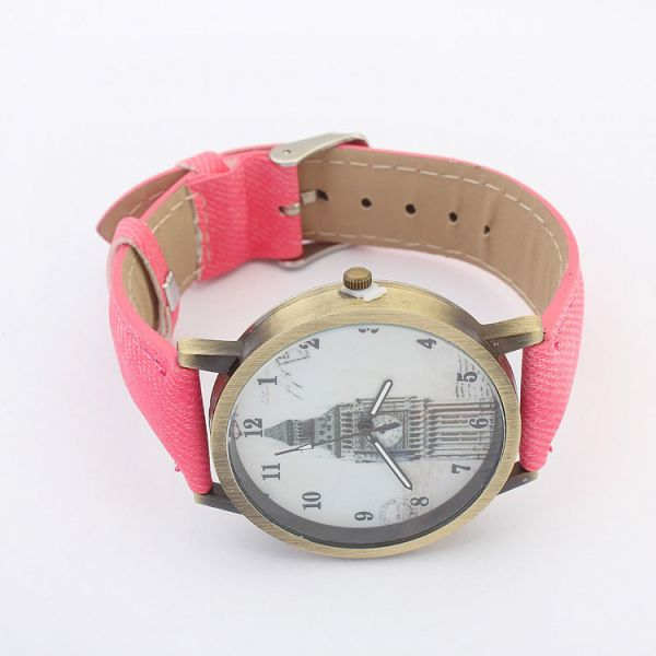 Shforn tower leather watch