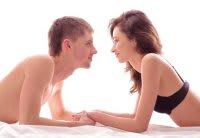 couples eye gazing