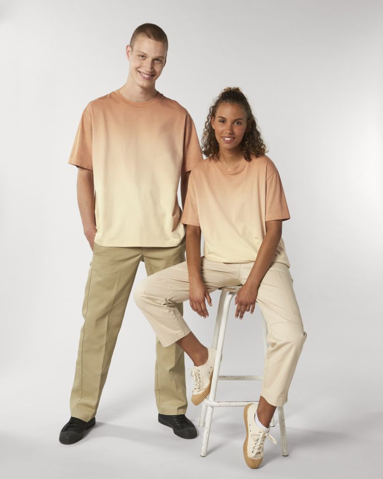 Fuser Dip Dye, The unisex dip dyed relaxed t-shirt STTU785 Stanley/Stella
