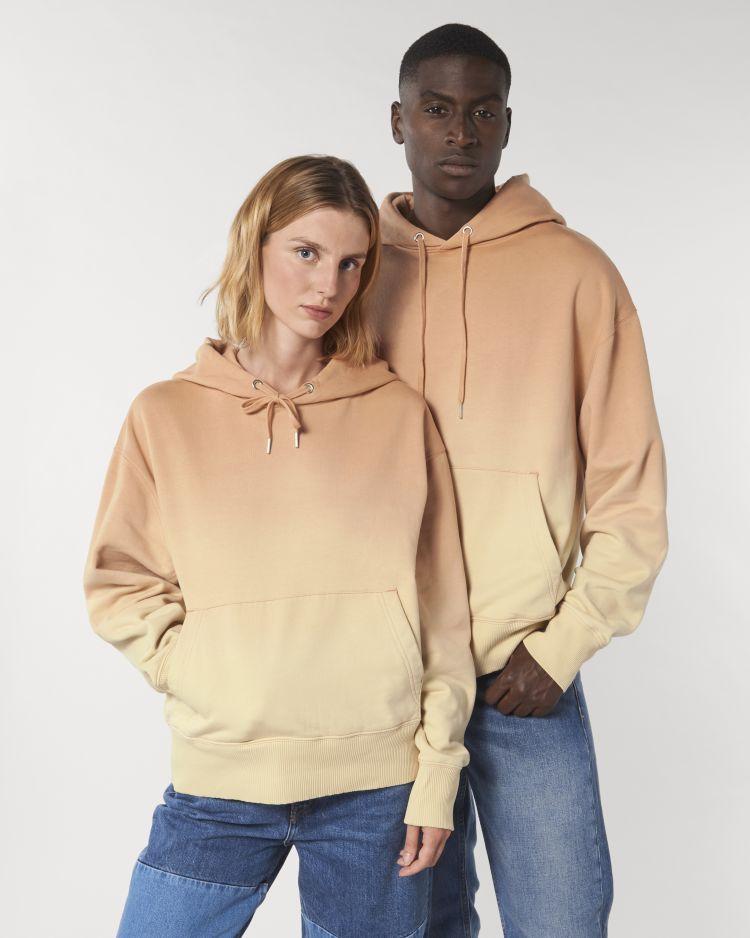 Slammer unisex relaxed Dip Dye hoodie sweatshirt STSU858 Stanley/Stella