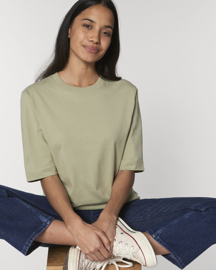 Fringer STTW054 Boxy Heavy T-Shirt Stanley/Stella