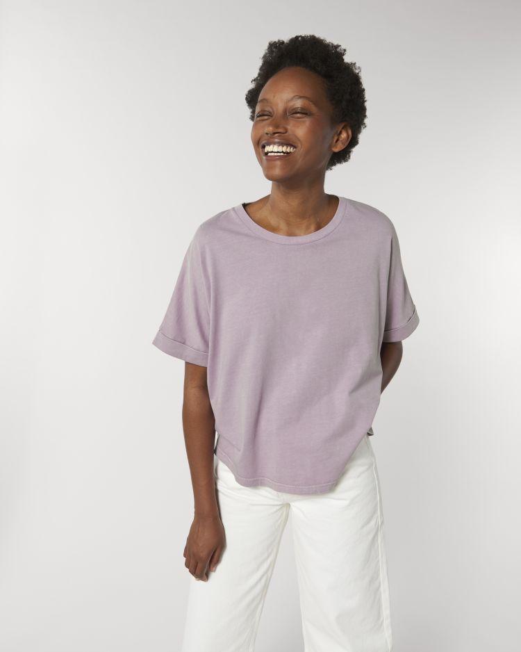 Stella Collider Vintage women's oversized t-shirt STTW068