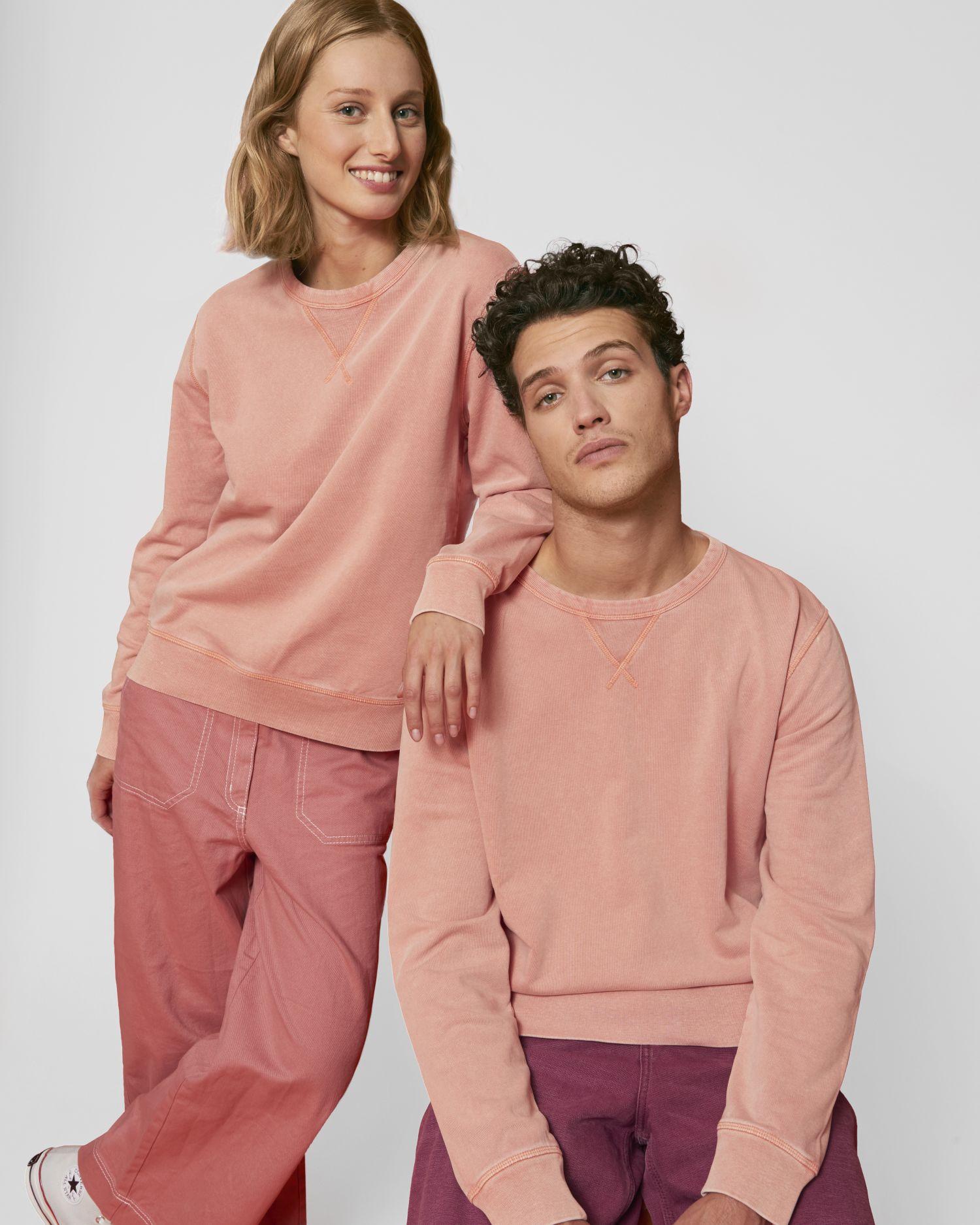 Joiner Vintage - Le sweat-shirt col rond unisexe teinté pièce
