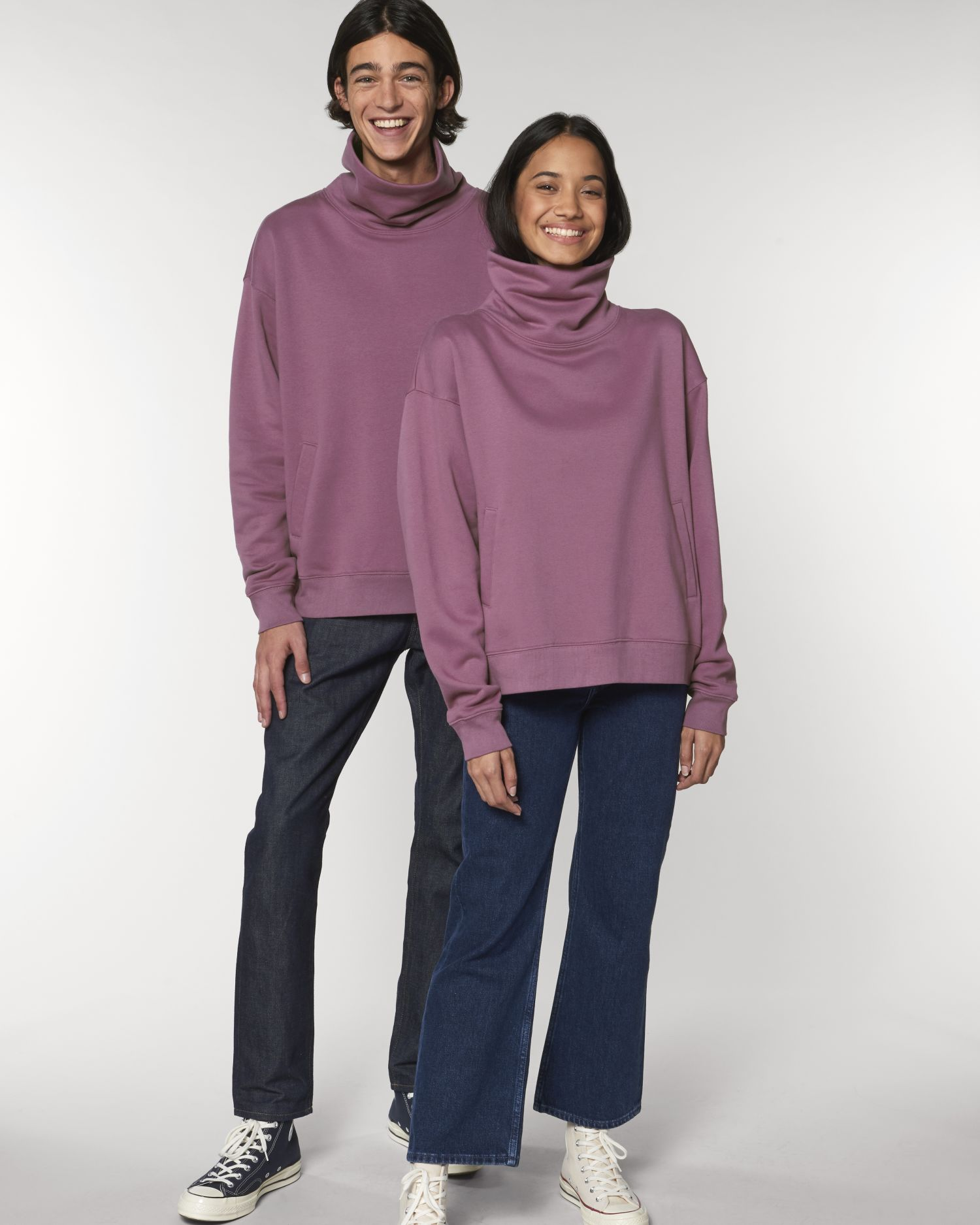 Strider - Le sweatshirt col montant unisexe