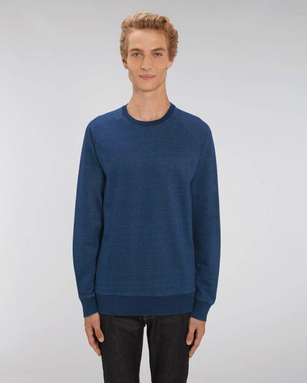 Stanley Stroller Denim - Le sweat-shirt col rond denim homme