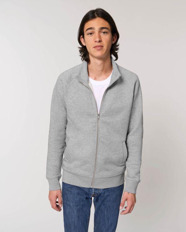Stanley Trailer - Le sweat-shirt zippé col montant homme