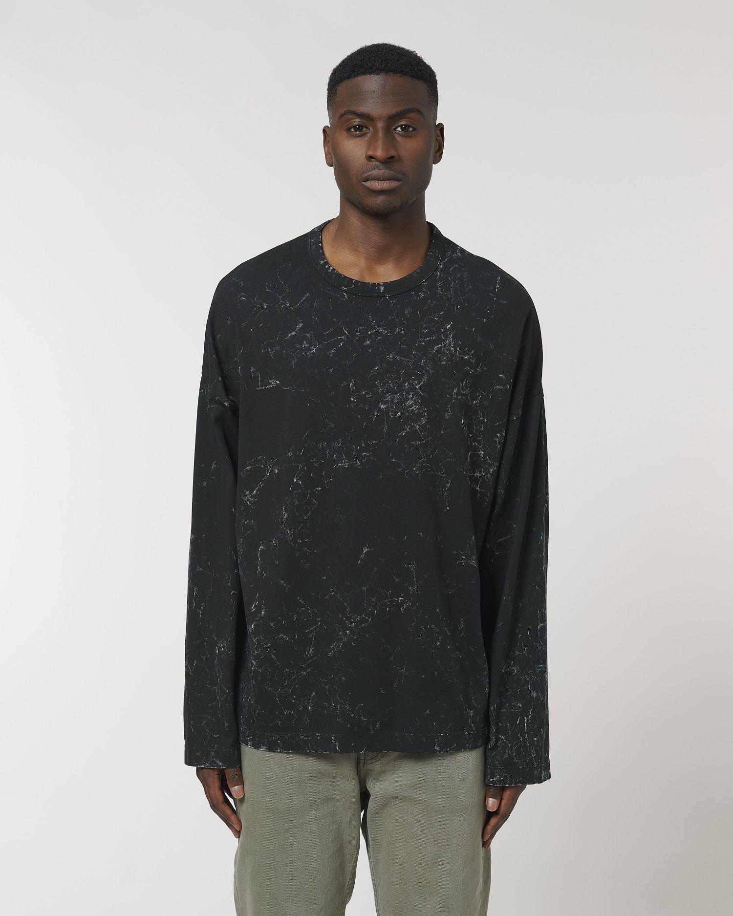 Triber Splatter Unisex Oversized Long Sleeve T-Shirt STTU791 Stanley/Stella